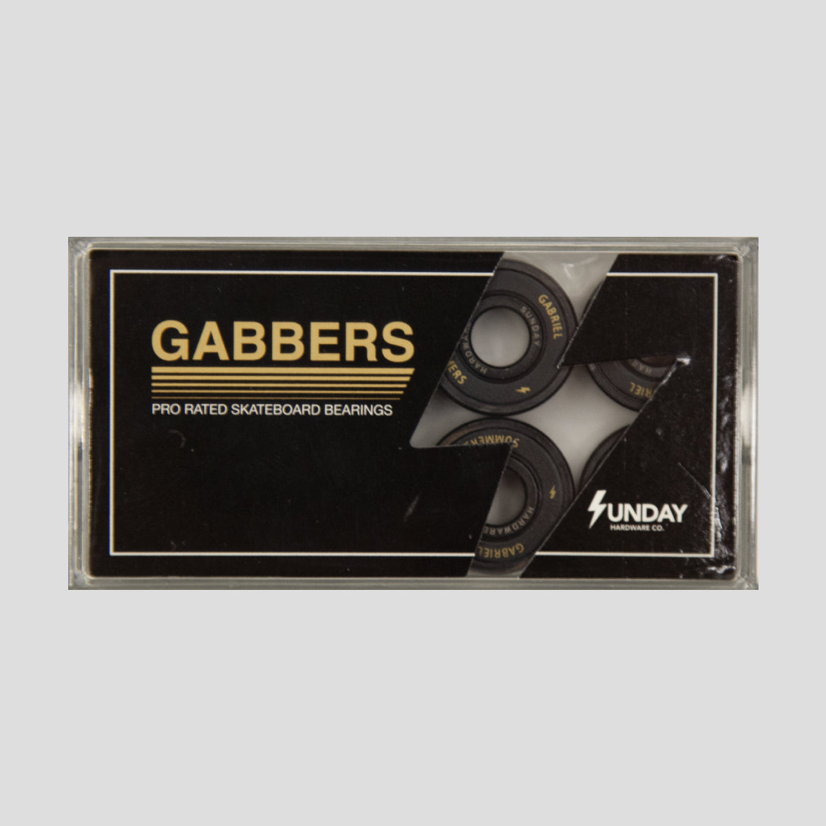 SUNDAY HARDWARE GABRIEL SUMMERS PRO RATED BEARINGS