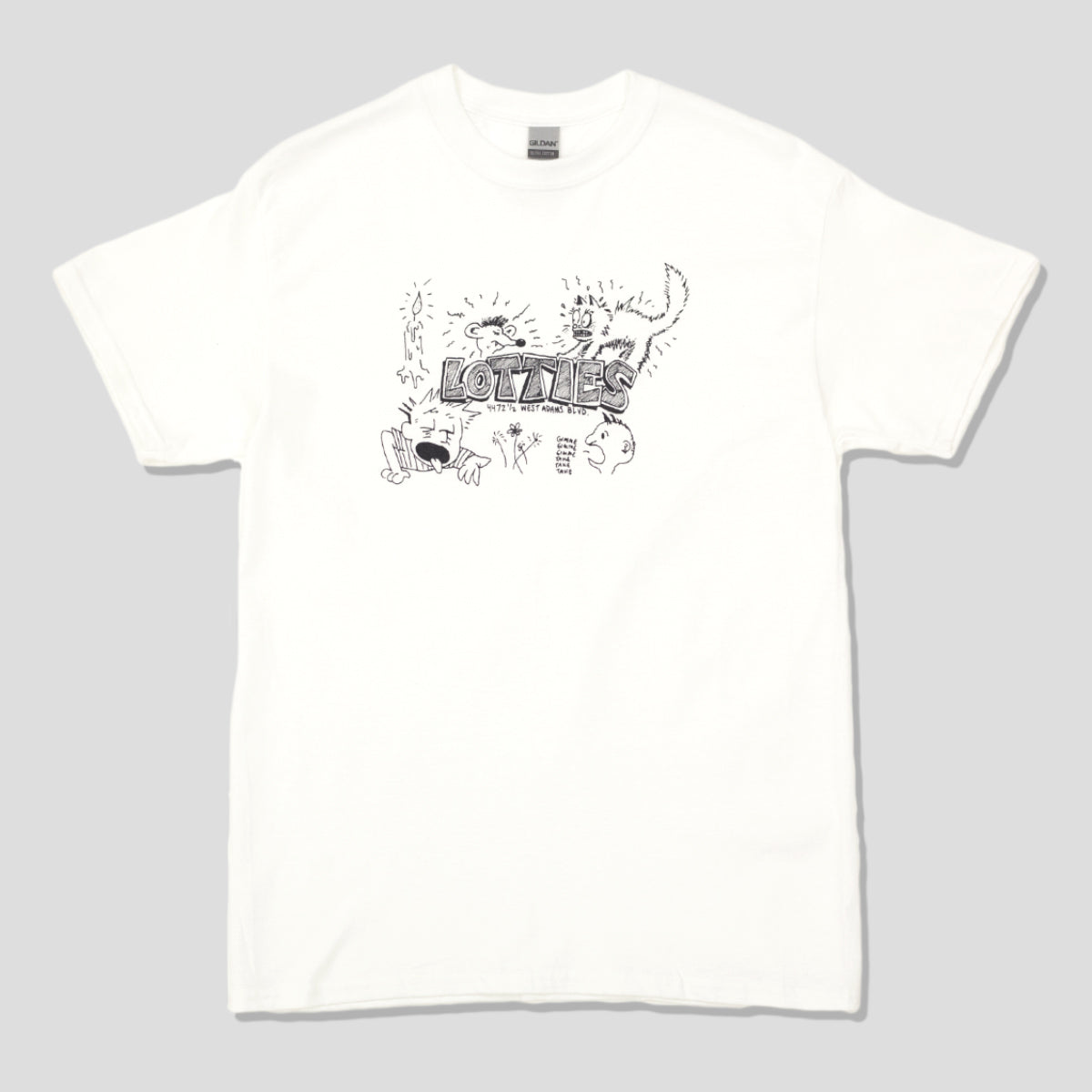 "LOTTIES ""GIMME"" TEE WHITE"