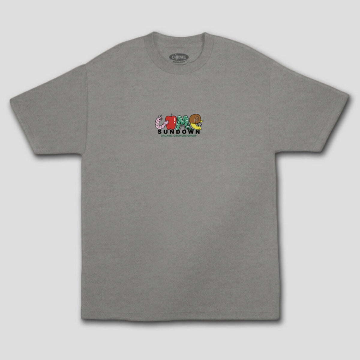 "COME SUNDOWN ""GROWERS"" TEE ATHLETIC HEATHER"