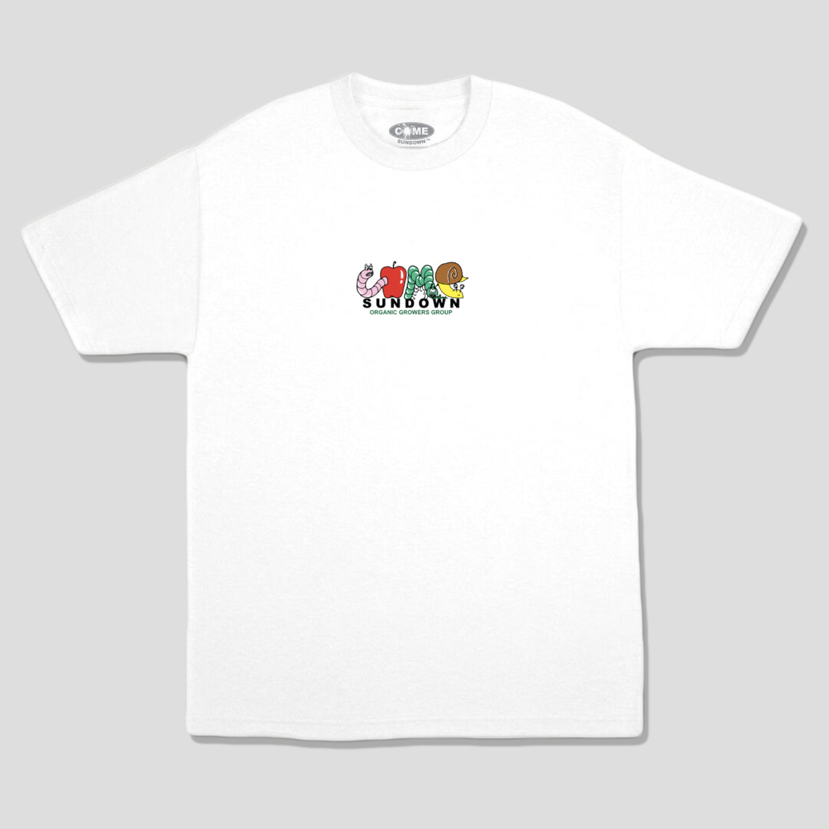 "COME SUNDOWN ""GROWERS"" TEE WHITE"