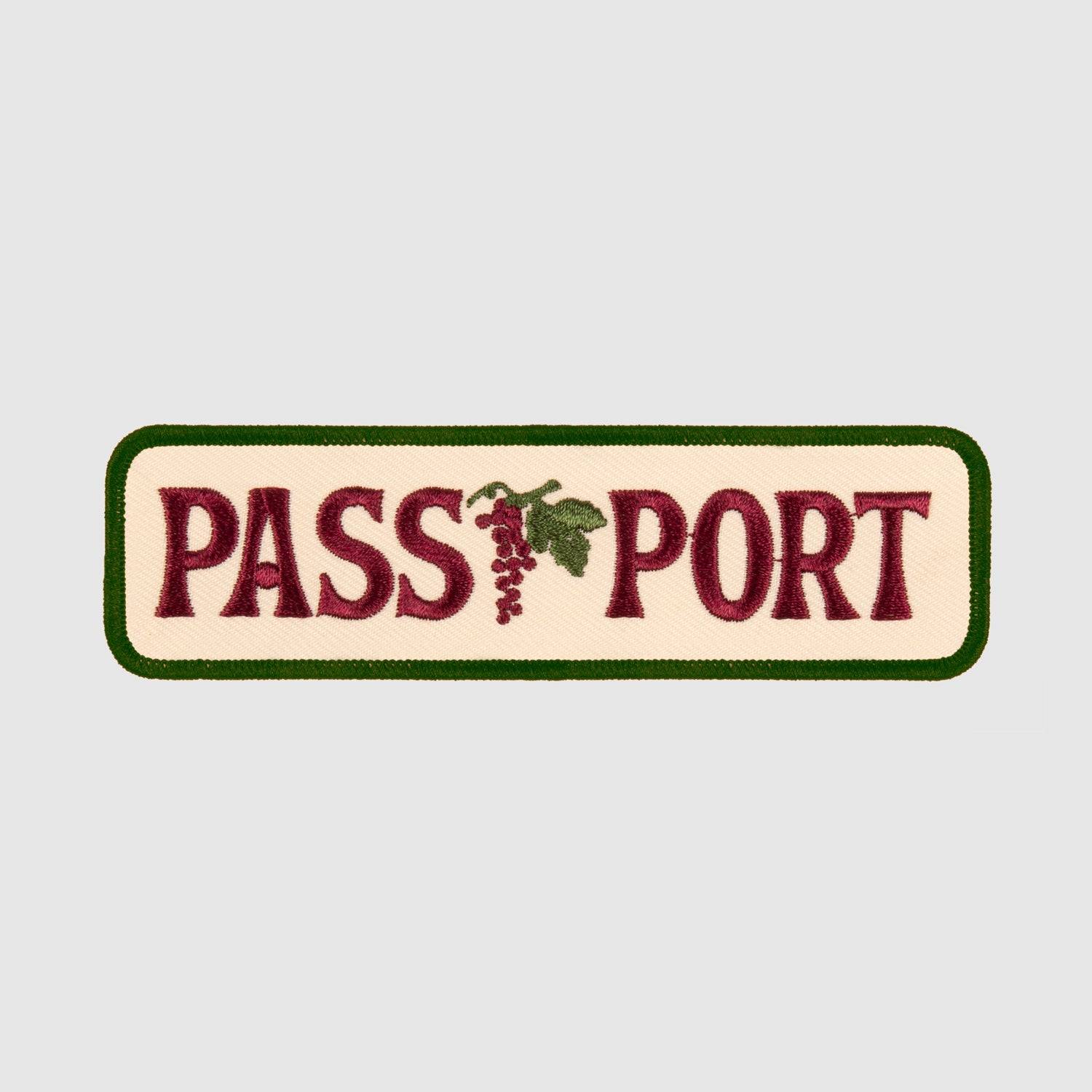 "PASS~PORT ""LIFE OF LEISURE"" PATCH"