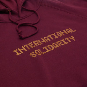 "PASS~PORT ""TILE INTER SOLID"" HOOD MAROON"