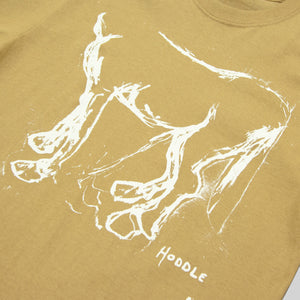 "HODDLE ""HORSE"" TEE BROWN"