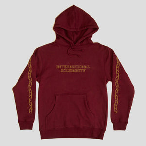 "PASS~PORT ""INTER SOLID"" HOOD BURGUNDY"