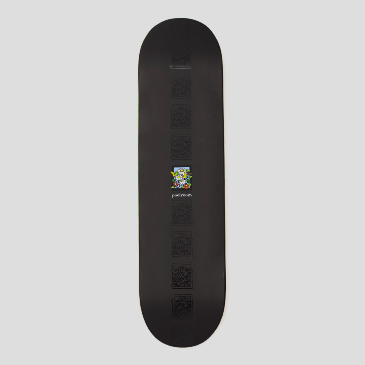 "POOLROOM ""IN BLOOM"" DECK BLACK"