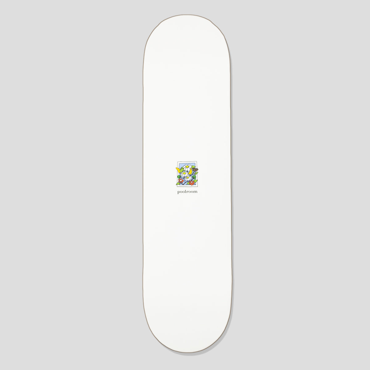 "POOLROOM ""IN BLOOM"" DECK WHITE"
