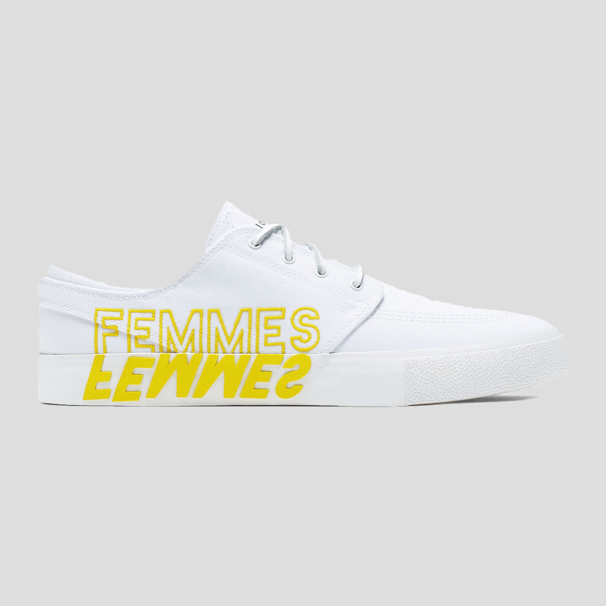 "NIKE ""JANOSKI RM VIOLENT FEMMES"" WHITE/TOUR YELLOW"