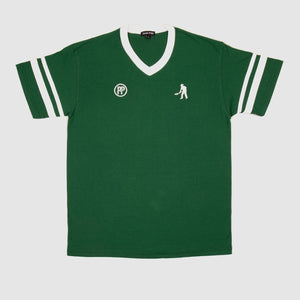 "PASS~PORT ""WORKERS STRIPES"" JERSEY DARK GREEN / WHITE"