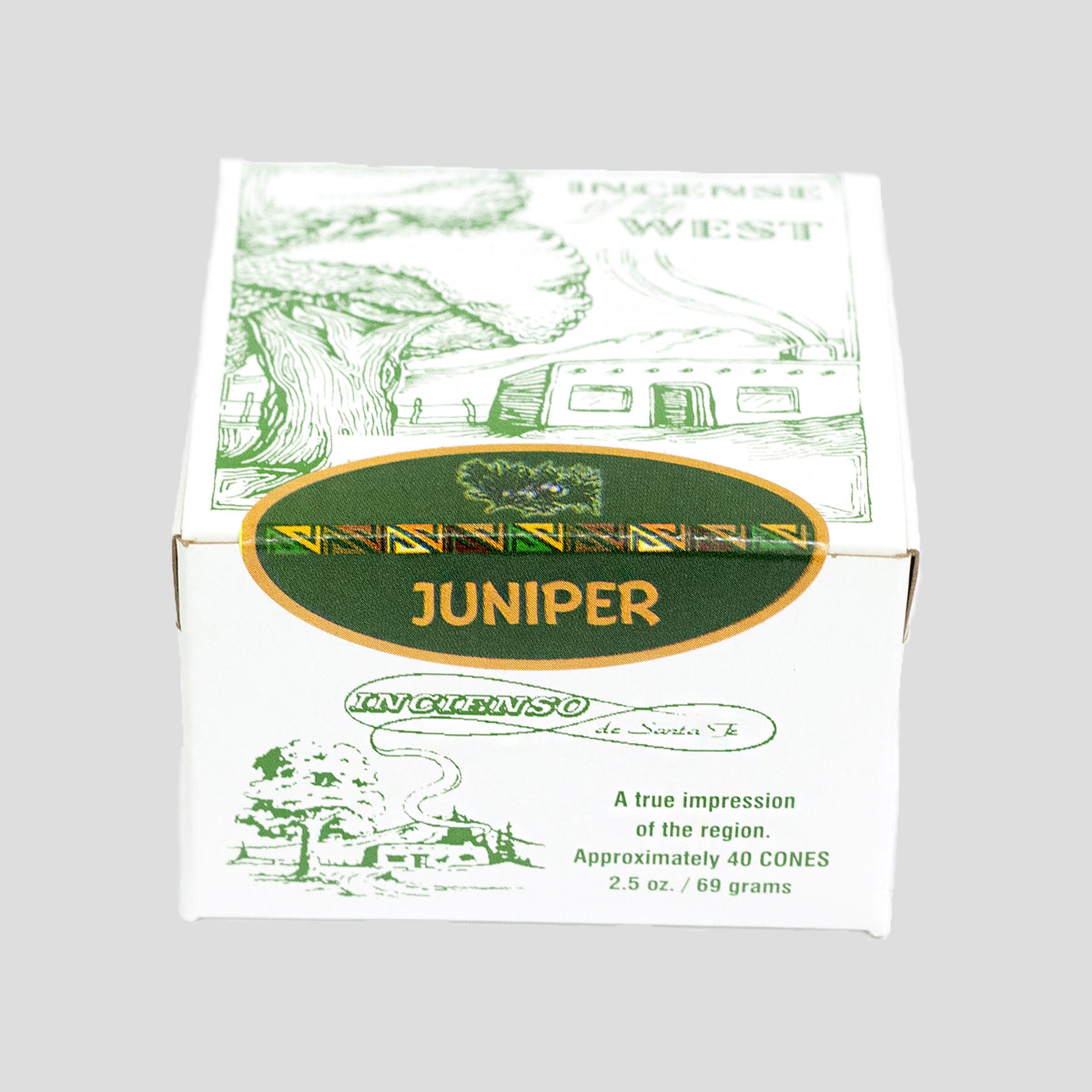 "INCIENSO ""JUNIPER"" INCENSE"