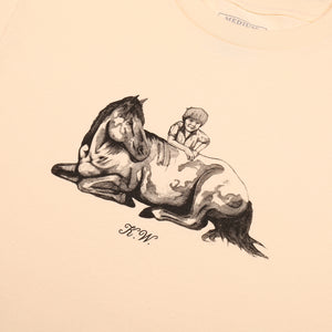 "PASS~PORT ""K.W TRIBUTE"" TEE CREAM"
