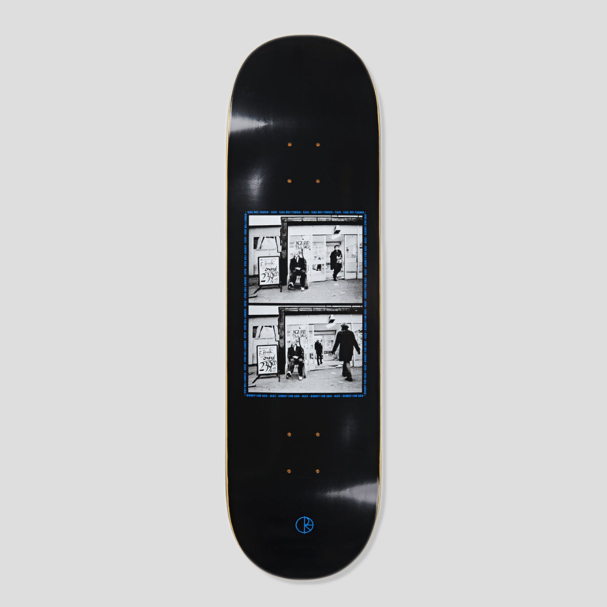 "POLAR SKATE CO. KLEZ ""KIDNEY FOR SALE 2.0"" DECK BLACK 9.0"""