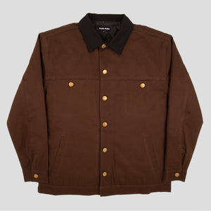 "PASS~PORT ""LATE"" JACKET CHOCOLATE"