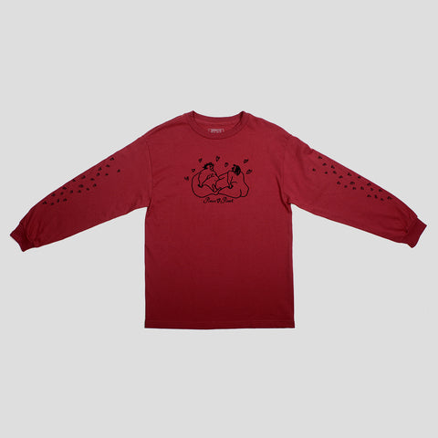 "PASS~PORT ""LUVERS"" L/S TEE CRD"