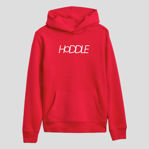"HODDLE ""LOGO"" HOOD RED"