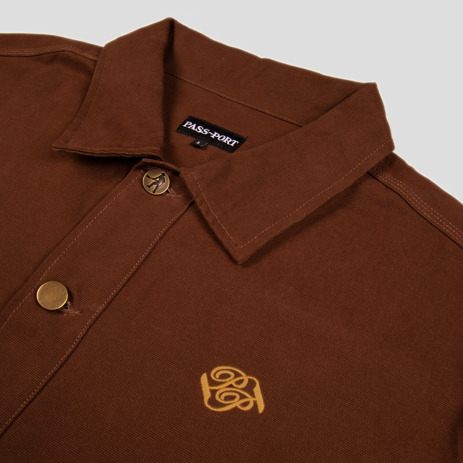 "PASS~PORT ""MASTERS"" JACKET BROWN"