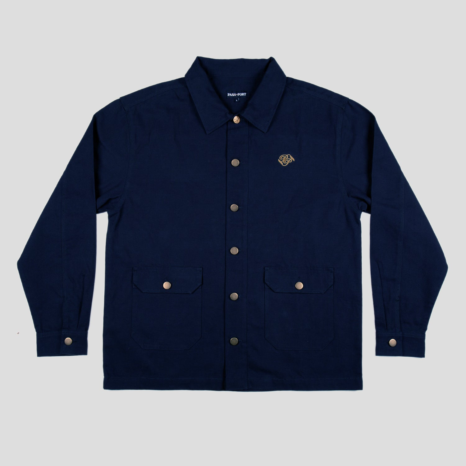 "PASS~PORT ""MASTERS"" JACKET NAVY"