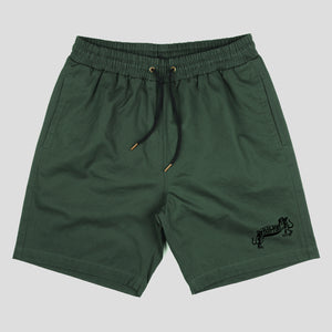 "PASS~PORT ""MISSING TILDE"" SHORTS GREEN"