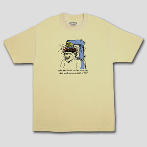 "COME SUNDOWN "" MOMENTS"" TEE  BANANA"