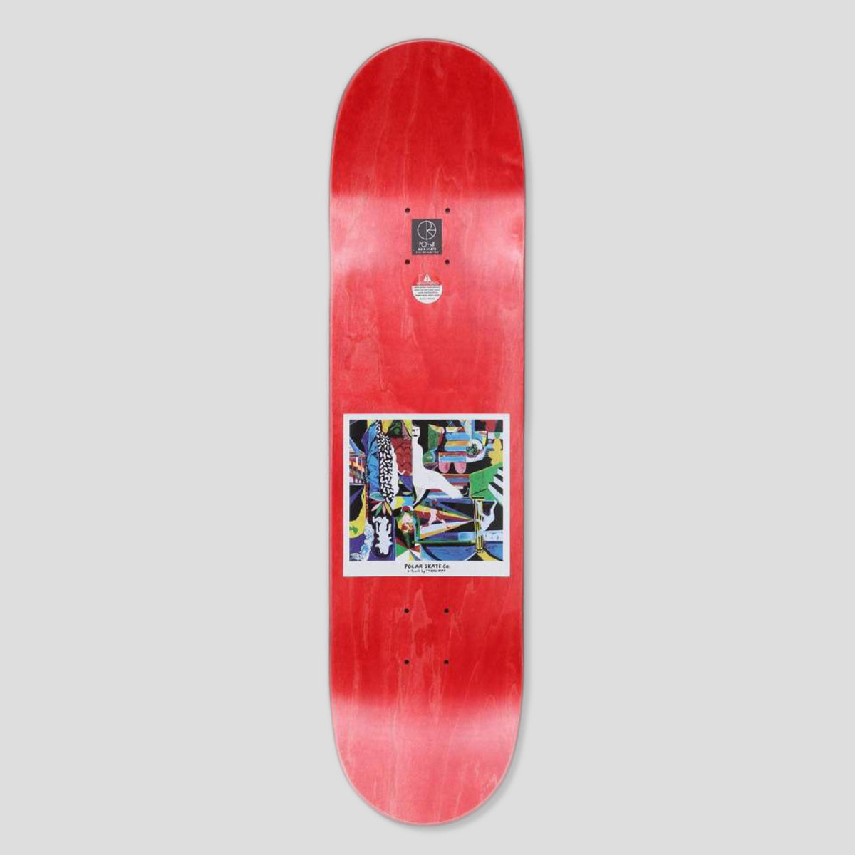"POLAR SKATE CO. NICK BOSERIO ""MEMORY PALACE"" DECK 8.0"""