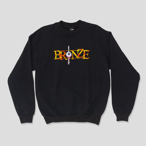 "BRONZE 56K ""ALWAYS HARD"" SWEATER BLACK"