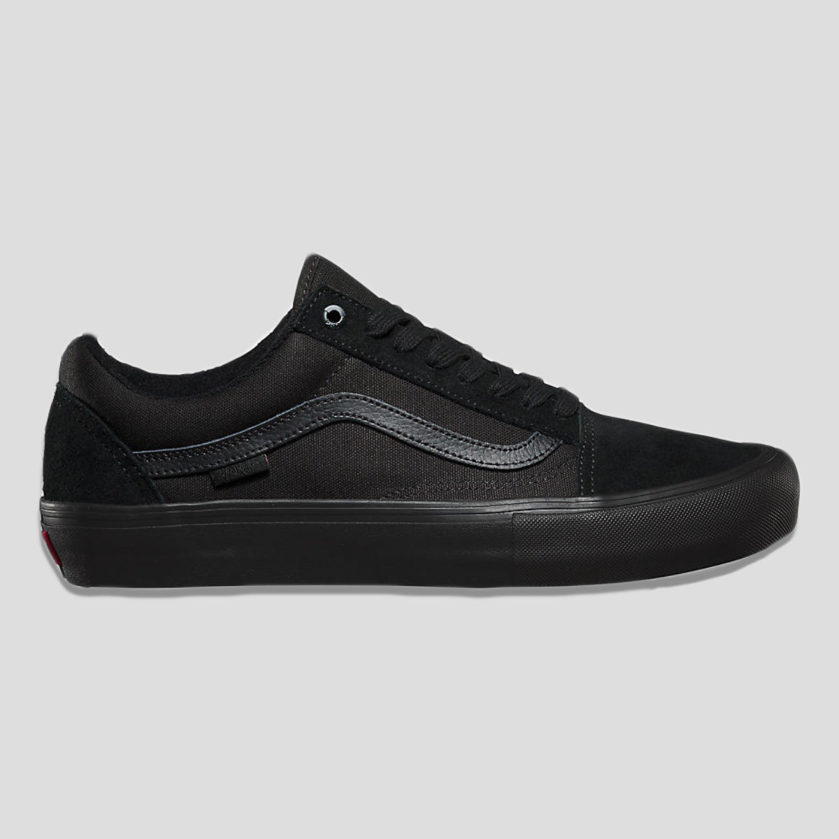 "VANS ""OLD SKOOL PRO"" SHOE BLACK/BLACK"
