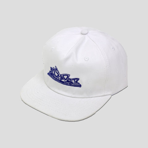 "PASS~PORT ""PREMIERE"" CAP WHITE"