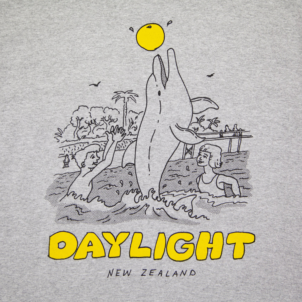 "DAYLIGHT ""OPONONI"" TEE GREY"