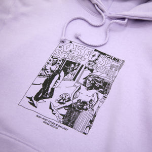 "PASS~PORT ""OXFORD STREET CLEANERS"" HOOD LAVENDER"