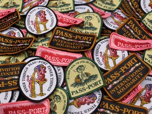 "PASS~PORT ""FOWL"" PATCH"