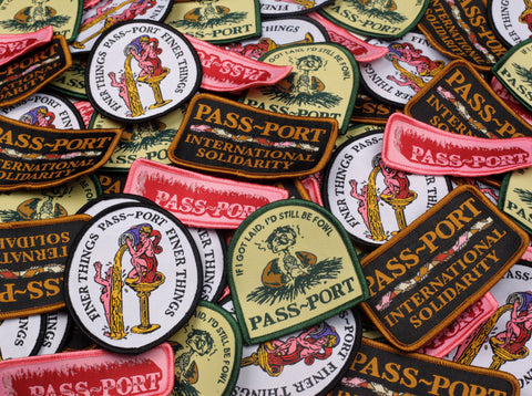 "PASS~PORT ""FINER THINGS"" PATCH"