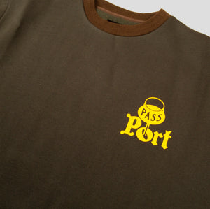 "PASS~PORT ""PORT"" STEPH SWEATER OLIVE"