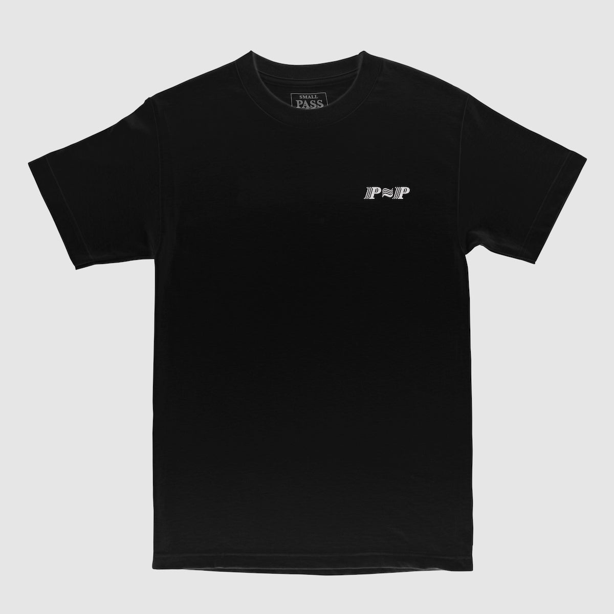 "PASS~PORT ""PPP"" TEE BLACK"