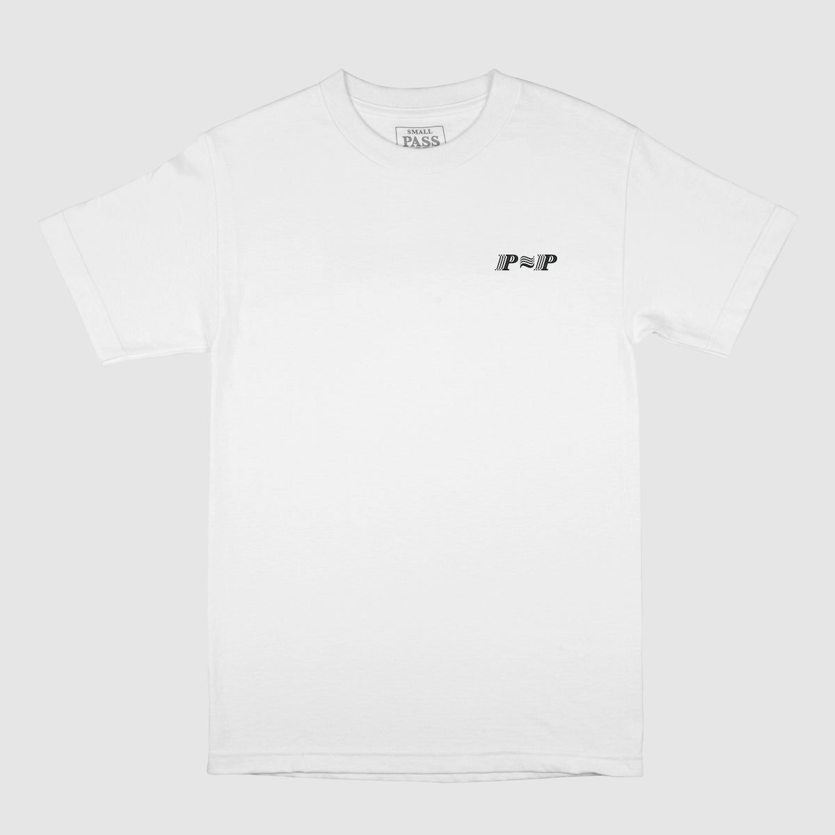 "PASS~PORT ""PPP"" TEE WHITE"