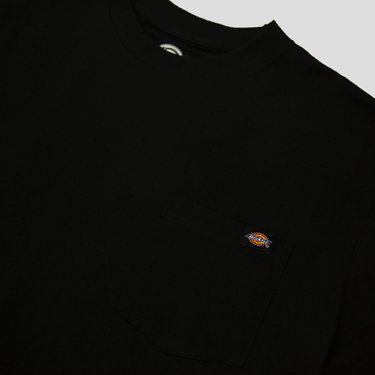 "DICKIES ""HEAVY WEIGHT"" TEE BLACK"