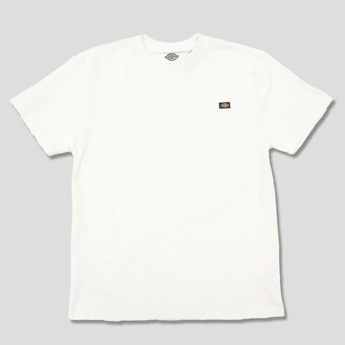 "DICKIES ""HEAVY WEIGHT"" TEE WHITE"