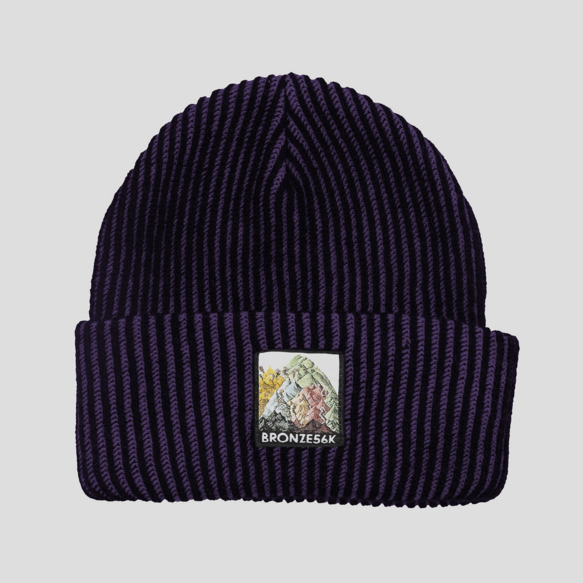"BRONZE 56K ""MOUNTAIN"" BEANIE PURPLE"