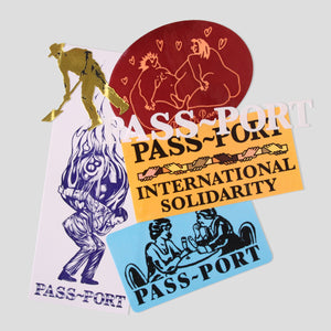 PASS~PORT STICKER PACK