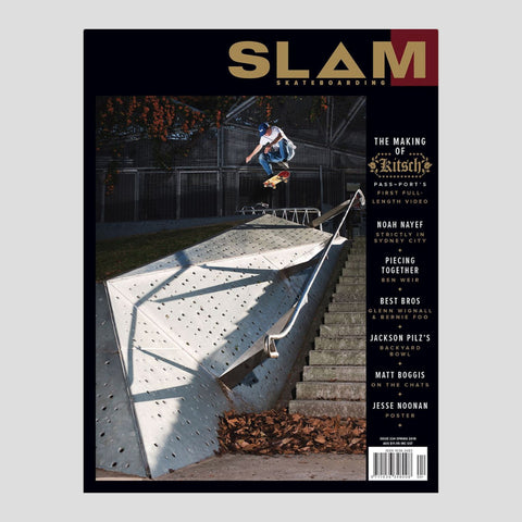 Slam Skateboarding Issue #224