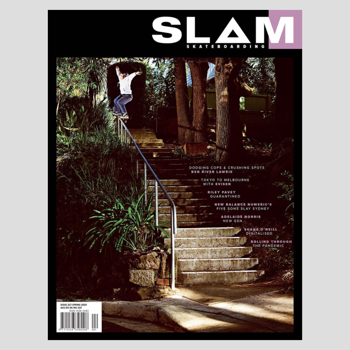 Slam Skateboarding Issue #227