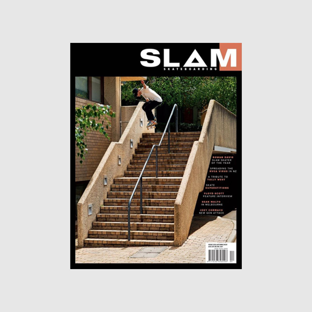 Slam Skateboarding Issue #226