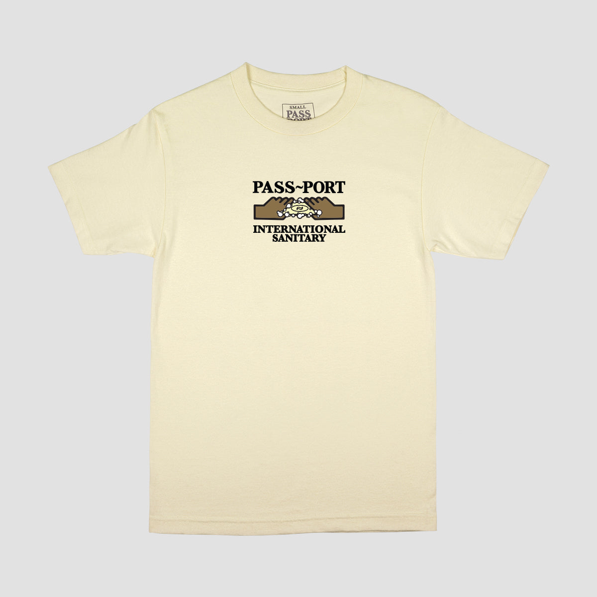 "PASS~PORT ""INTERNATIONAL SANITARY"" TEE CREAM"