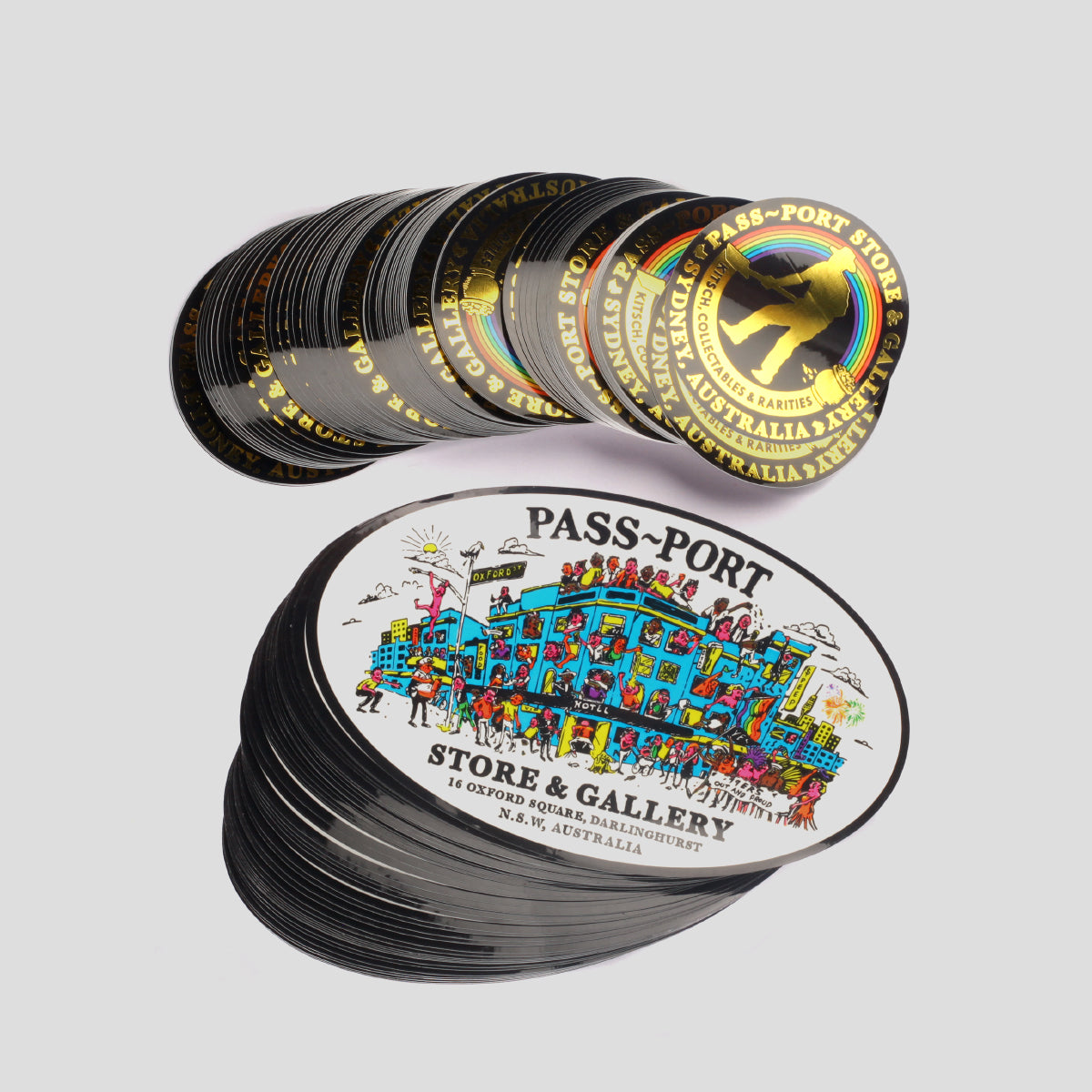 PASS~PORT STORE & GALLERY STICKER PACK