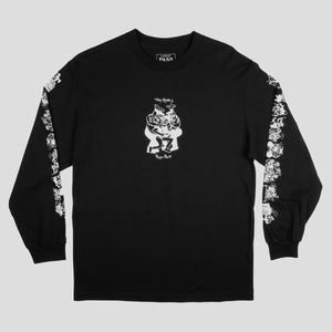 "PASS~PORT TOBY ZOATES ""COPPERS"" L/S TEE BLACK"