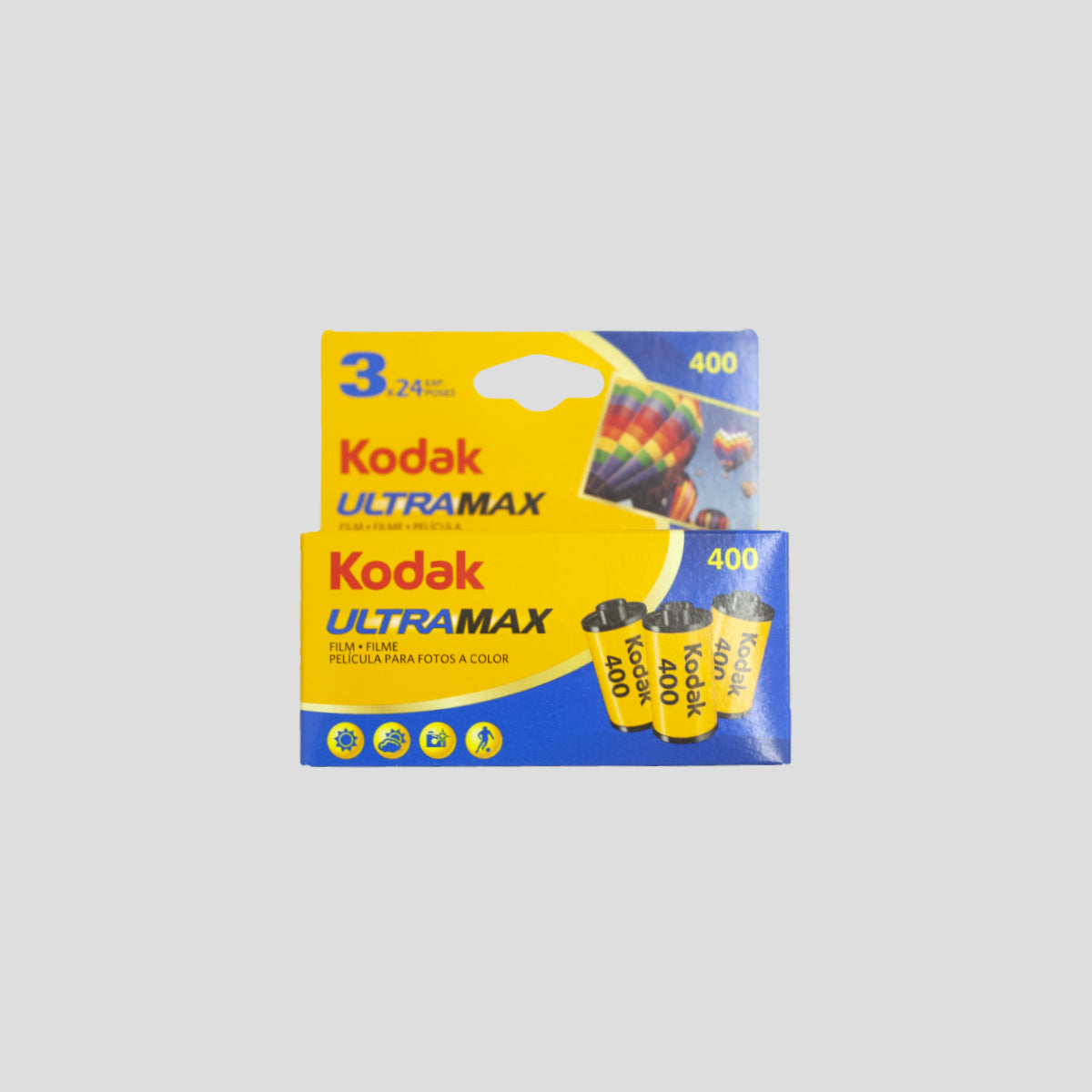 "KODAK ""GC135-24 400 MAX"" 35MM FILM 3PK"