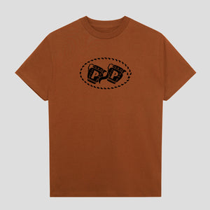 "PASS~PORT ""VESSELS"" TEE TEXAS ORANGE"