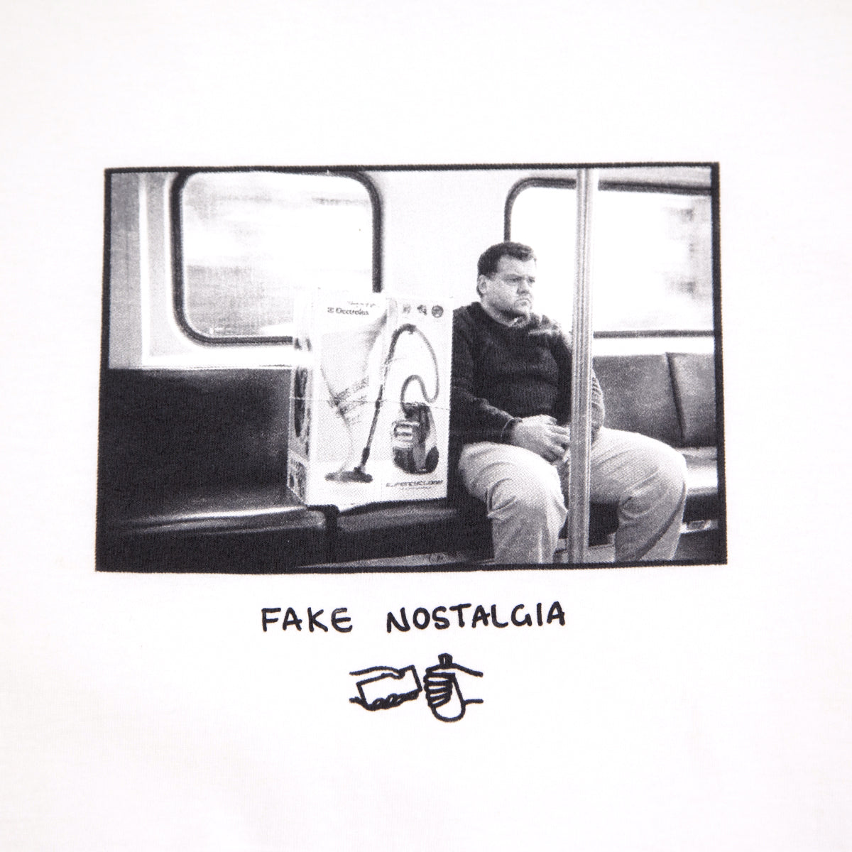 FAKE NOSTALGIA TEE WHITE