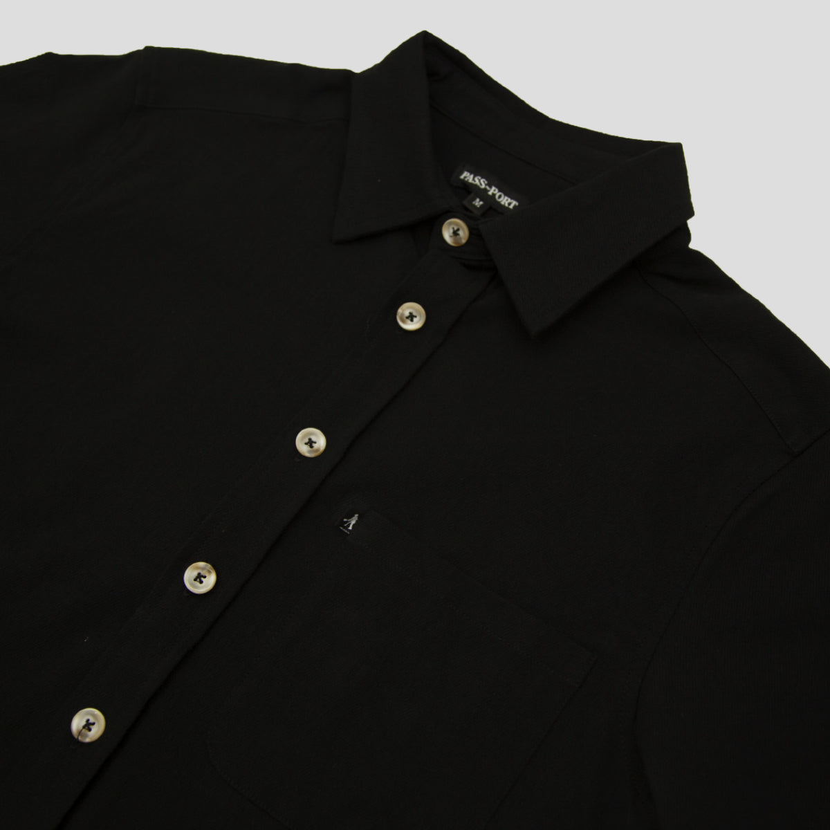 "PASS~PORT ""WORKERS"" S/S SHIRT BLACK"