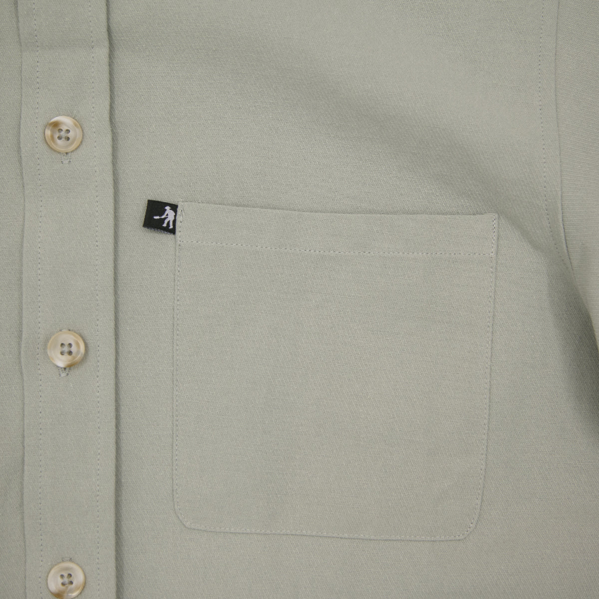 "PASS~PORT ""WORKERS"" S/S SHIRT GREY"
