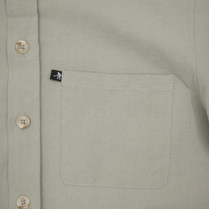 "PASS~PORT ""WORKERS"" L/S SHIRT GREY"