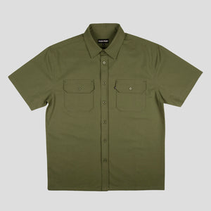 "PASS~PORT ""WORKERS"" S/S SHIRT OLIVE"